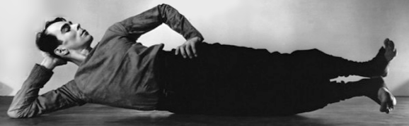 American modern dance pioneer and master choreographer Charles Weidman in 'On My Mother's Side.' (circa 1939)