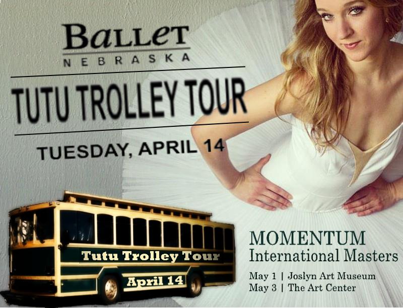 TUTU TROLLEY TOUR BALLET NEBRASKA